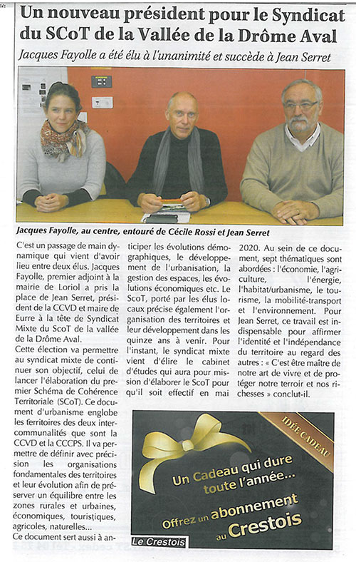 article 17 novembre 2017Crestois
